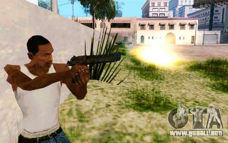 Desert Eagle (Dodgers) para GTA San Andreas segunda pantalla