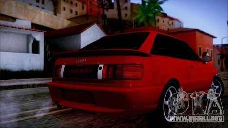 Audi RS2 Coupe para GTA San Andreas left