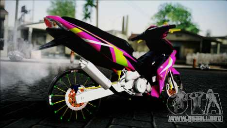 Jupiter Mx para GTA San Andreas left
