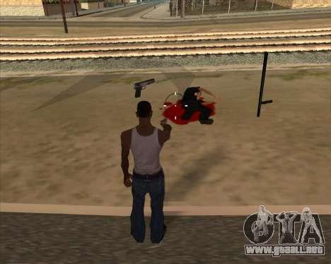 Configuración De Ragdoll para GTA San Andreas tercera pantalla