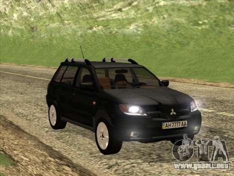 Mitsubishi Outlander para visión interna GTA San Andreas