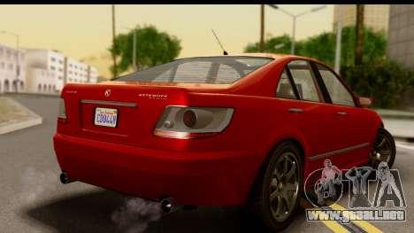 GTA 5 Karin Asterope para GTA San Andreas left