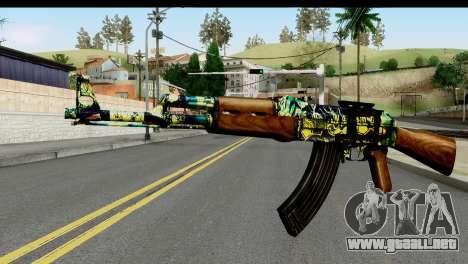 Grafiti AK47 para GTA San Andreas