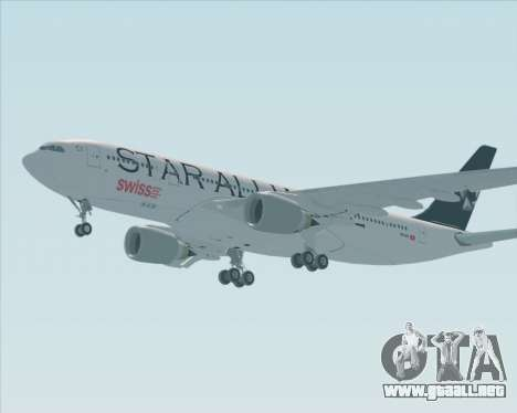 Airbus A330-200 SWISS (Star Alliance Livery) para GTA San Andreas