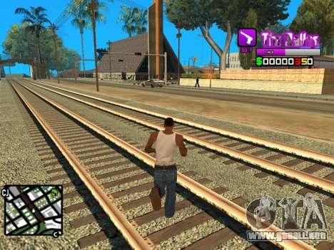 C-HUD Ballas by Inovator para GTA San Andreas tercera pantalla