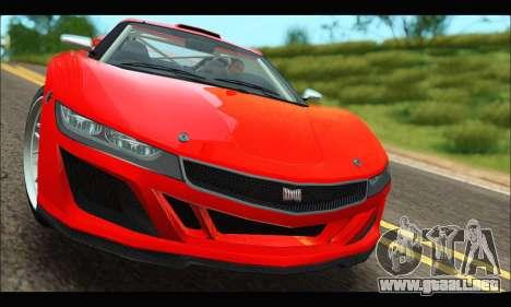 Dinka Jester Racecar (GTA V) (IVF) para GTA San Andreas