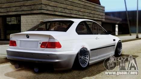 BMW M3 E46 Sport PG para GTA San Andreas left