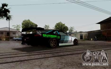 Nissan Silvia S15 v3 para GTA San Andreas left