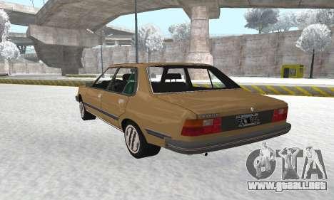 Renault 18 para visión interna GTA San Andreas