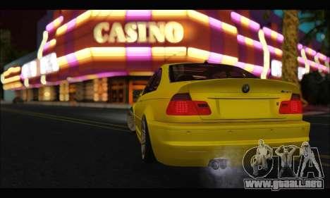 BMW M3 Coupe Tuned para la visión correcta GTA San Andreas