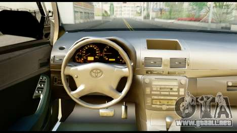 Toyota Hilux Georgia Police para la visión correcta GTA San Andreas