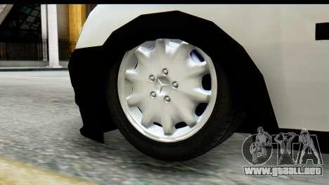Opel Combo Delta Garage para la visión correcta GTA San Andreas