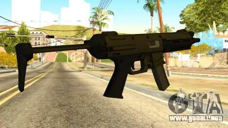 MP5 from GTA 5 para GTA San Andreas segunda pantalla