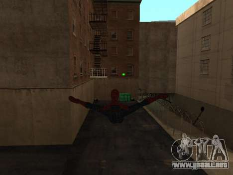 Spiderman Swinging v2.1 para GTA San Andreas segunda pantalla
