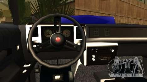 Chevy Monte Carlo para GTA San Andreas vista posterior izquierda