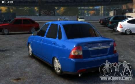 Lada 2170 para GTA 4 left