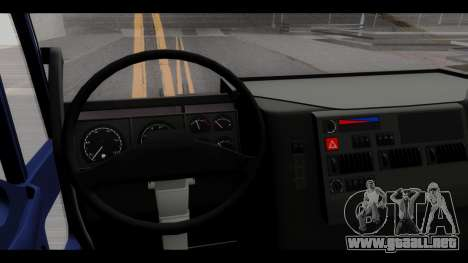 Iveco Eurotech (No Snow) para GTA San Andreas vista hacia atrás