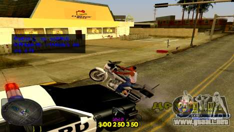 C-HUD Barcelona para GTA San Andreas tercera pantalla