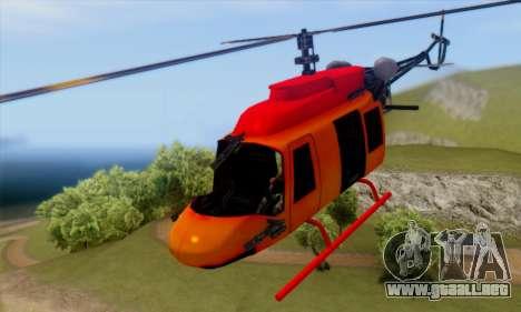 Bandit Maverick para GTA San Andreas vista hacia atrás