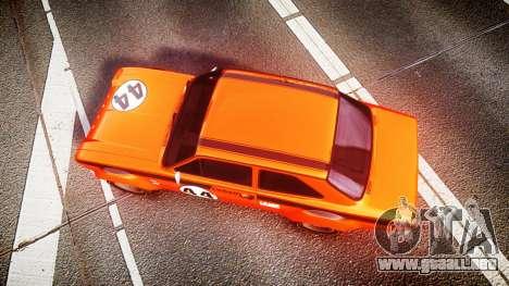 Ford Escort RS1600 PJ44 para GTA 4 visión correcta