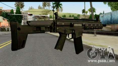 SCAR from from State of Decay para GTA San Andreas segunda pantalla