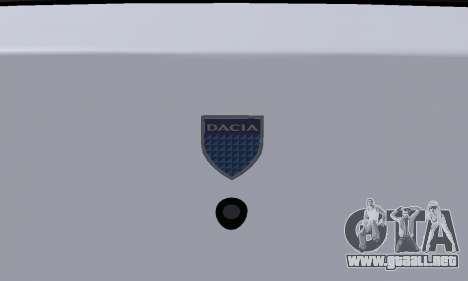 Dacia Logan Taxi para la vista superior GTA San Andreas