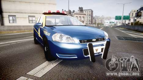 Chevrolet Impala West Virginia State Police ELS para GTA 4