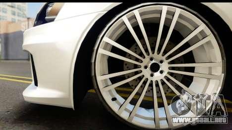 Mitsubishi Lancer X RE-Racing Edition para la visión correcta GTA San Andreas