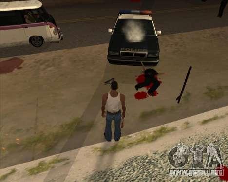 Configuración De Ragdoll para GTA San Andreas segunda pantalla