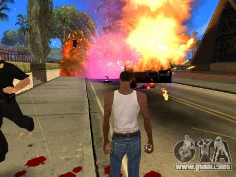 Fagot Funny Effects 1.1 para GTA San Andreas séptima pantalla