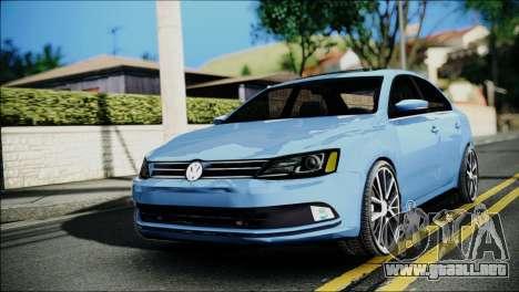 Volkswagen Jetta 2015 para GTA San Andreas