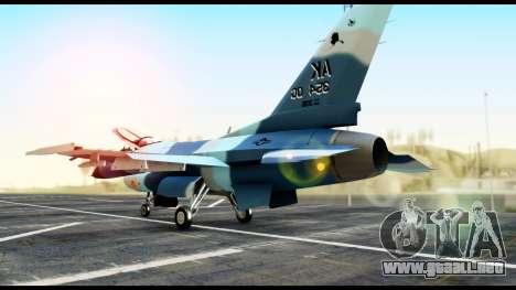 F-16 Aggressor Alaska para GTA San Andreas left