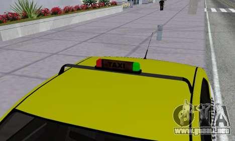 Dacia Logan Taxi para las ruedas de GTA San Andreas