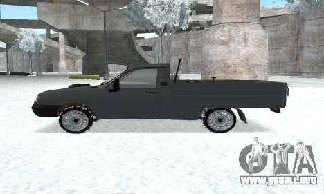 Dacia 1305 Papuc Pick-Up Drop Side 1.9D para la visión correcta GTA San Andreas