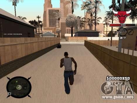 C-HUD Angry para GTA San Andreas tercera pantalla