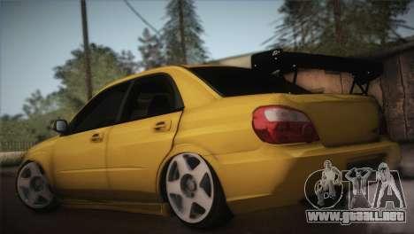 Subaru Impreza WRX STI JDM Style 2015 para GTA San Andreas left