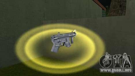 Mp5 Short para GTA Vice City sucesivamente de pantalla