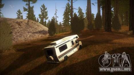 ENB Autumn para GTA San Andreas sexta pantalla
