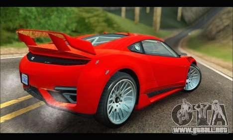 Dinka Jester Racecar (GTA V) (IVF) para la visión correcta GTA San Andreas