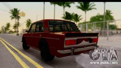 VAZ 2106 BQ para GTA San Andreas left