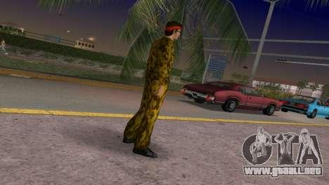 Camo Skin 19 para GTA Vice City