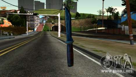 Knife from Kuma War para GTA San Andreas
