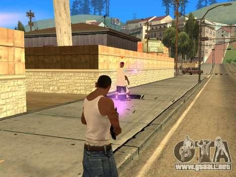 Fagot Funny Effects 1.1 para GTA San Andreas segunda pantalla