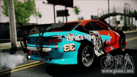 Nissan Silvia S15 EE para GTA San Andreas left