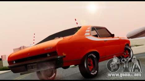 Chevrolet Series 2 1973 para GTA San Andreas vista posterior izquierda