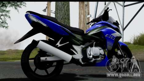 Honda CS1 v2 para GTA San Andreas left