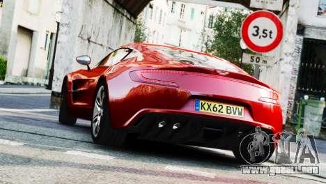 Aston Martin One-77 2010 [EPM] para GTA 4 left