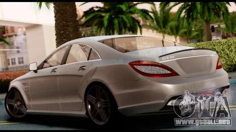 Mercedes-Benz CLS 63 AMG 2010 para GTA San Andreas left