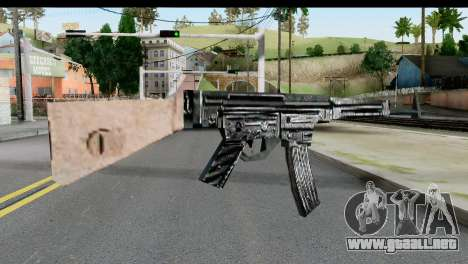 MP44 from Hidden and Dangerous 2 para GTA San Andreas segunda pantalla
