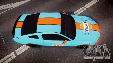 Ford Mustang Boss 302 2013 Gulf para GTA 4 visión correcta